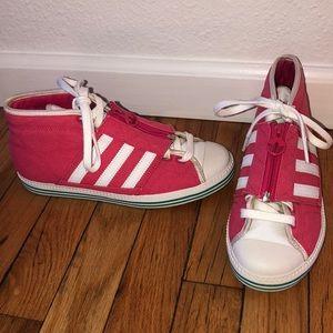Rare Converse-like Adidas Zipper Sample Sneakers 7